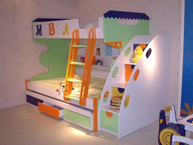 Bunk Beds For Kids With Storage Drawers