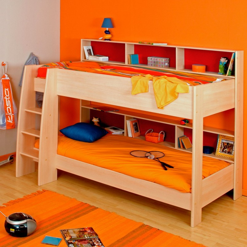 Bunk Beds For Kids Wooden Base