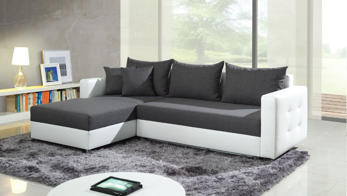 corner sofa bed maximizing room space
