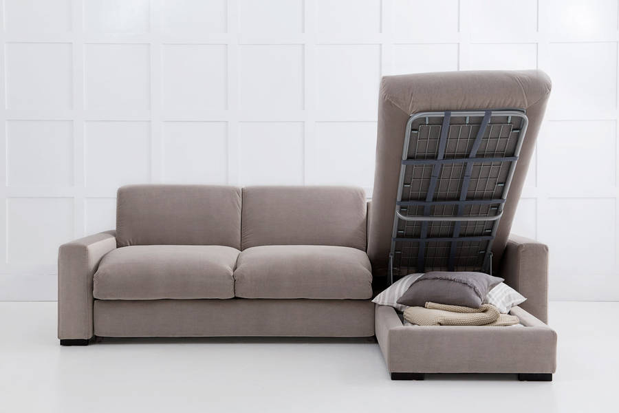 Corner Sofa Bed Maximizing Room E