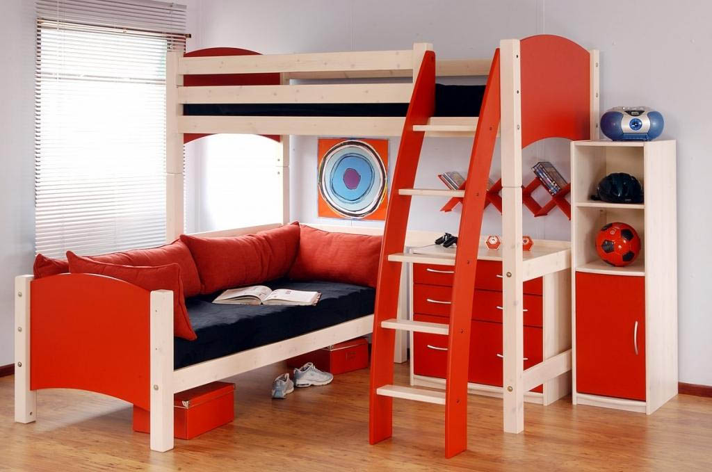 Decorative Bunk Beds For Kids With Stairs