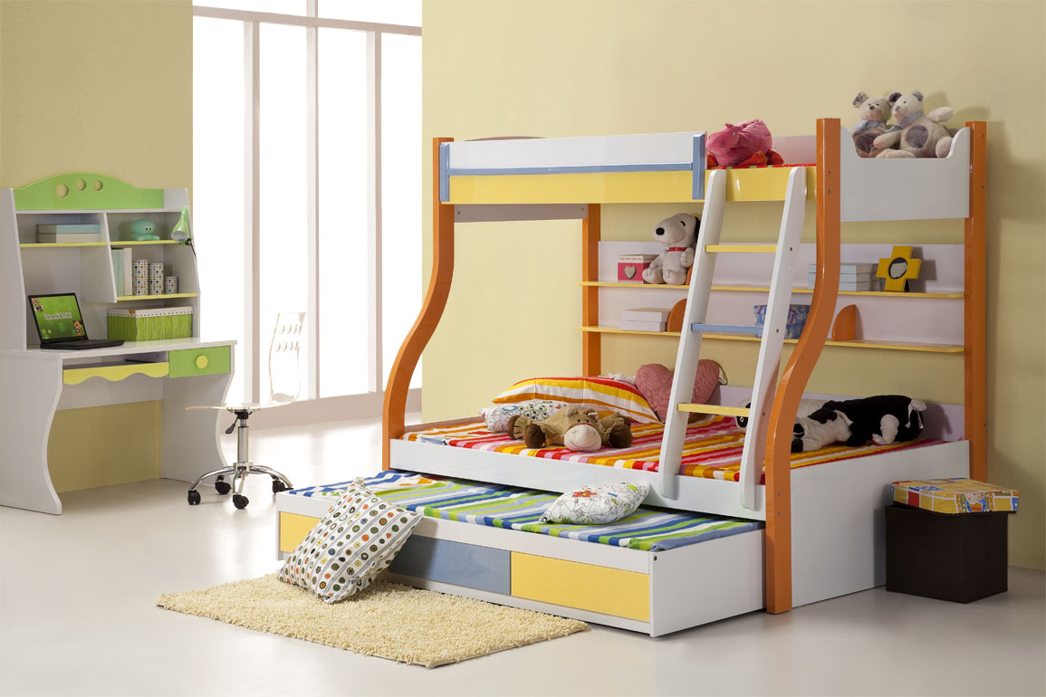 8 stunning bunk beds for kids design inoutinterior for Modern kids bunk beds