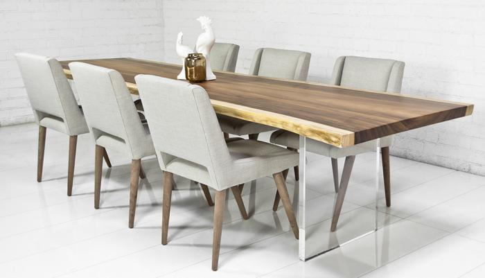 How to choose best modern dining table inoutinterior for Contemporary dining room table