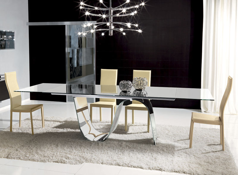 Modern-Glass-Dining-Table