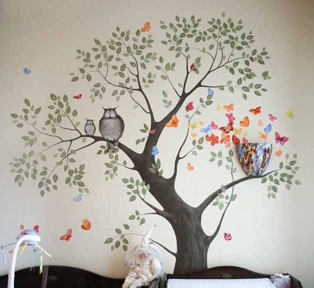Modern Wall Art Ideas Tree