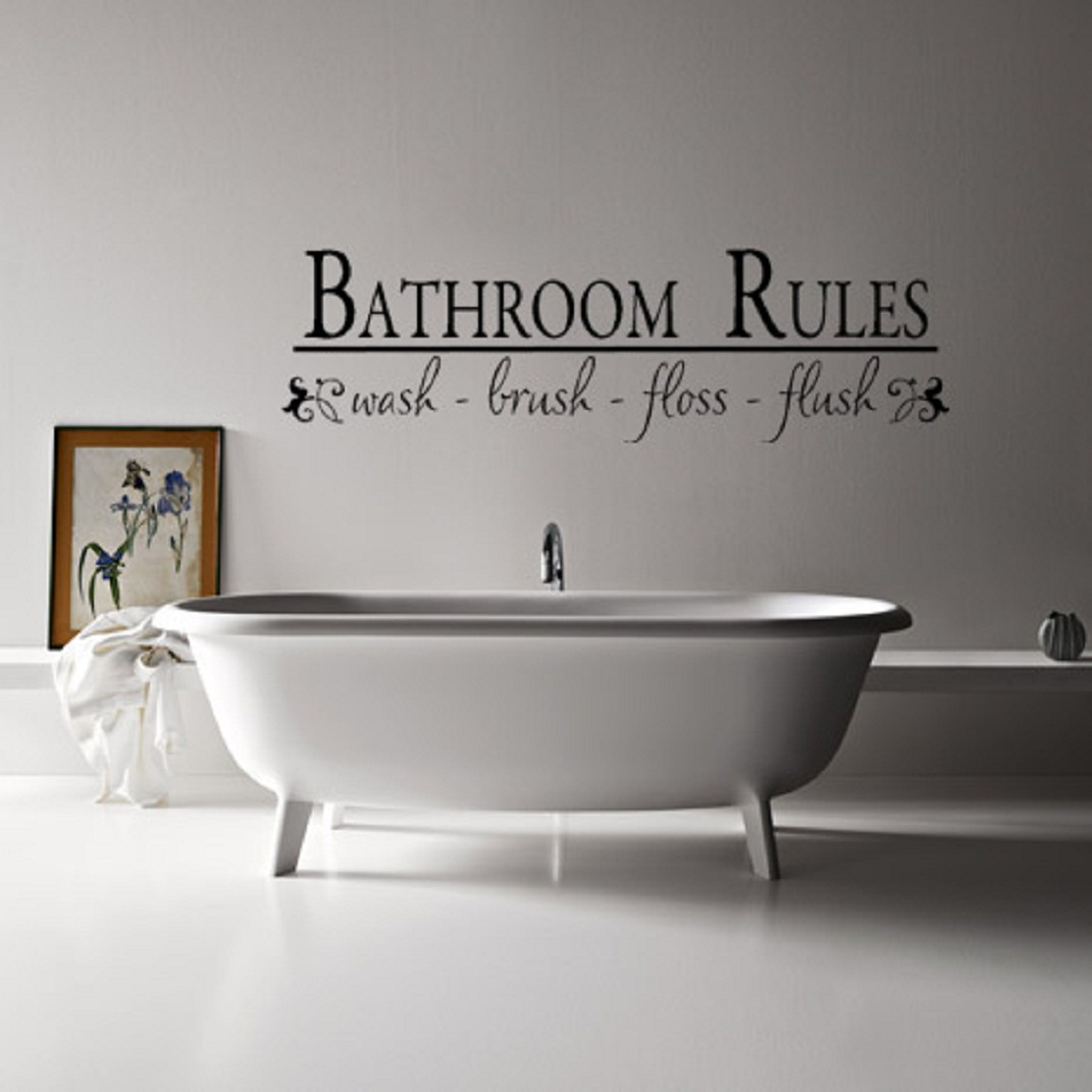 Wall art ideas to beautify any room inoutinterior for Small art deco bathroom ideas
