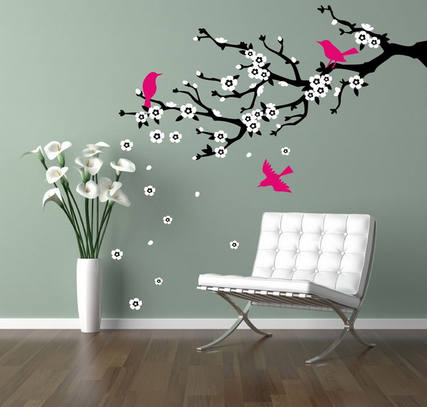 ... Tree Wall Art Ideas ... & Wall Art Ideas To Beautify Any Room » InOutInterior
