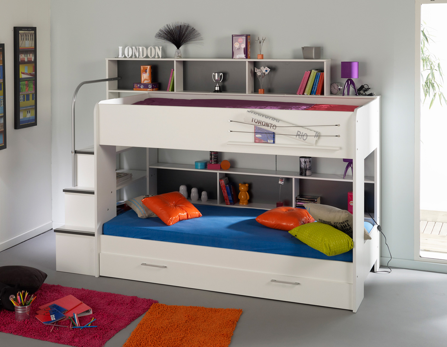 8 stunning bunk beds for kids design inoutinterior Bunk bed boys room