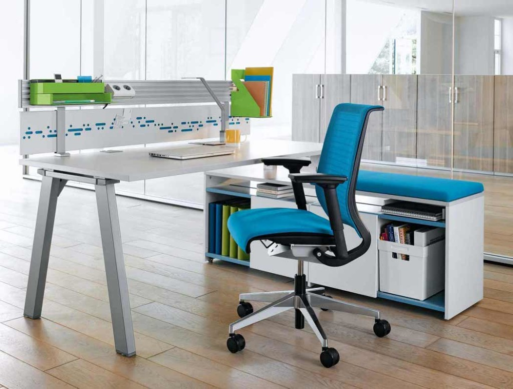 Blue Ergonomic Office Chairs Modern Styles