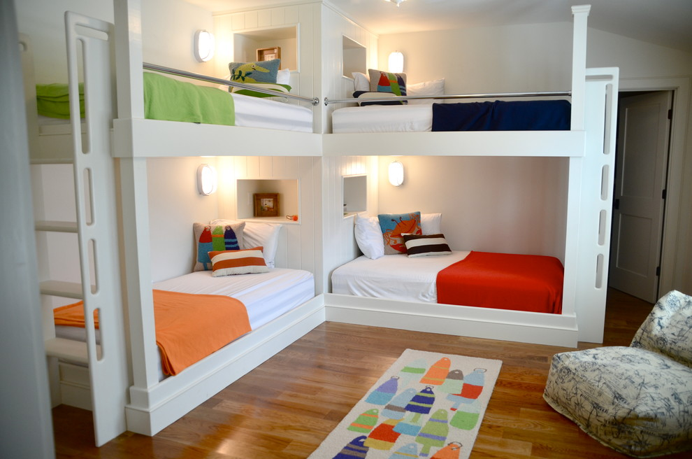 Built In Triple Bunk Beds