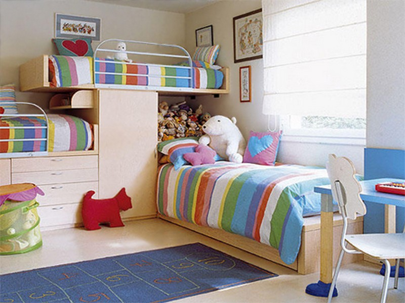 Triple Bunk Bed Modern Functional Designs Inoutinterior