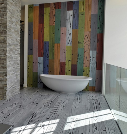 Colorful Modern Bathroom Tile Ideas