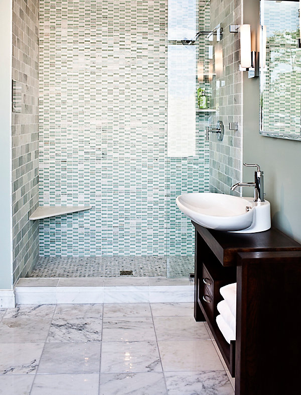 Contemporary Bathroom Tile Ideas