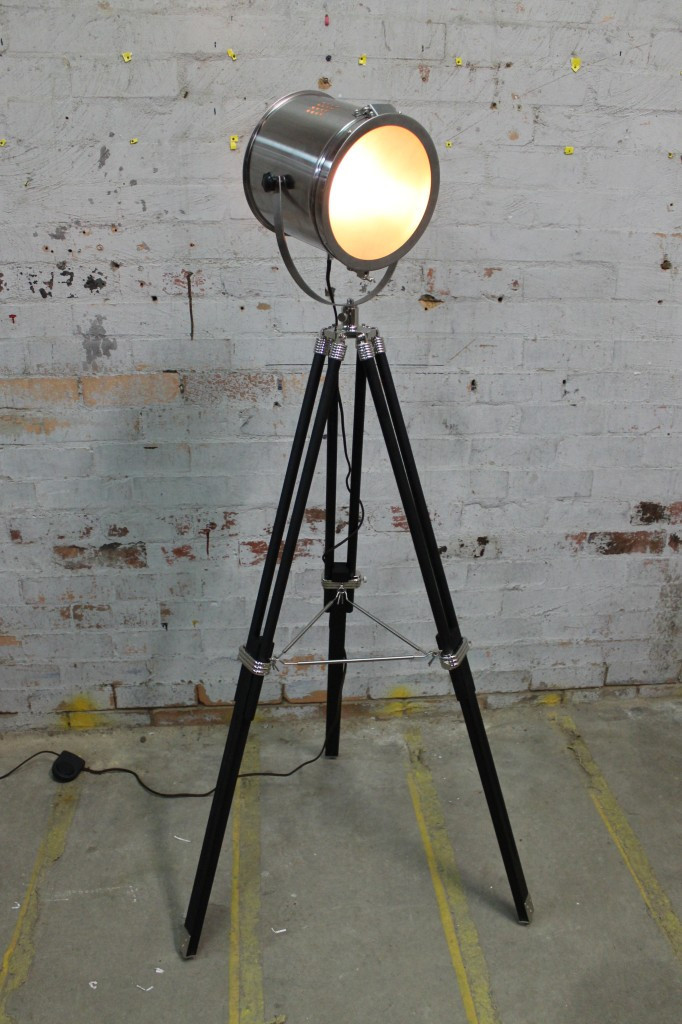 Contemporary Tripod Floor Lamp Design