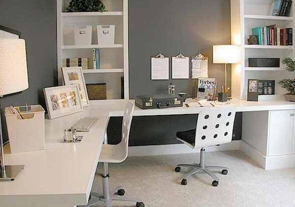 Corner Home Office Desks Ideas