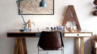 Custom Home Office Desks Minimalist