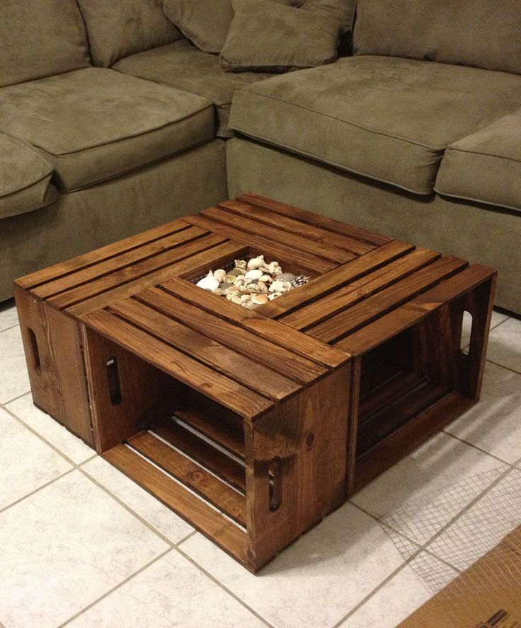 ... DIY Coffee Table ...