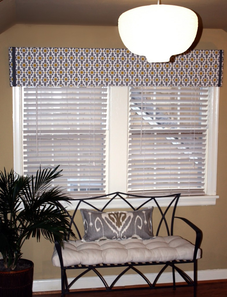 Easy Modern Window Treatments Valance