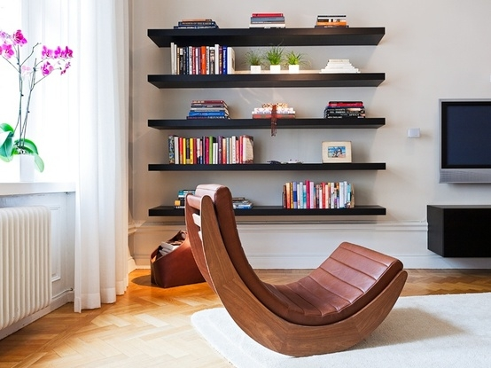 Floating Shelves Contemporary Design