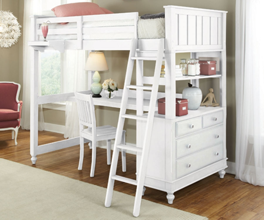 Download Loft Bed With Desk Pictures to pin on Pinterest