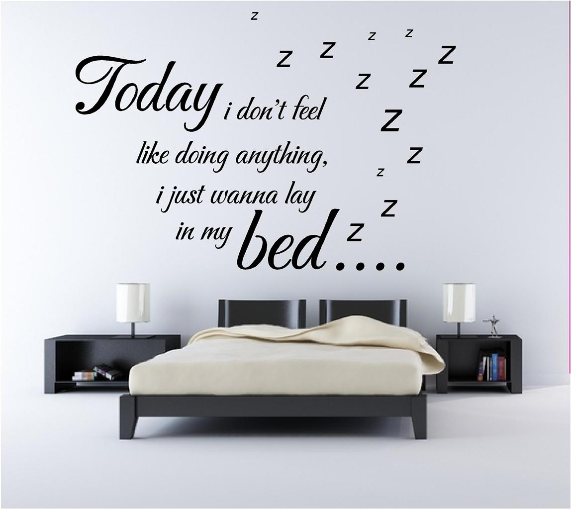 Bedroom Quotes Wall Stickers