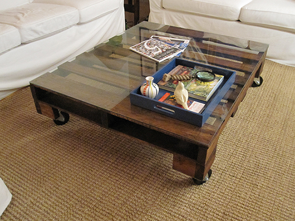 Genial ... DIY Coffee Table Glass Top ...