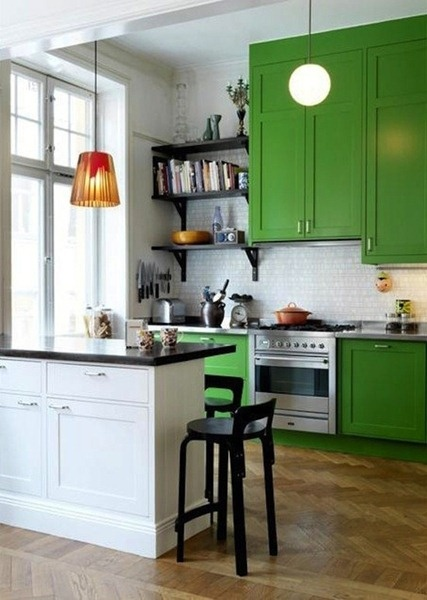 Greenlight Painted Kitchen Cabinets
