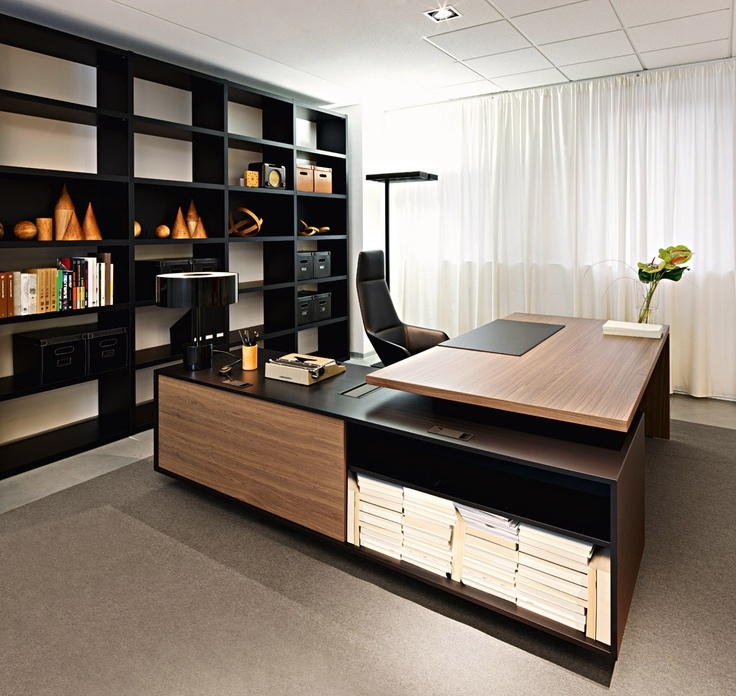 L Shaped Home Office Desks For Executive