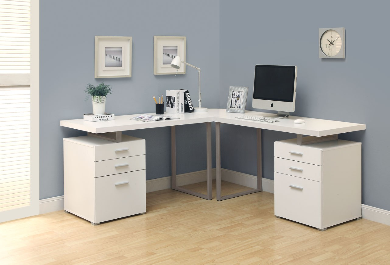 long desks for home office. L Shaped Home Office Desks Long For E