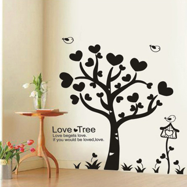 ... Wall Art Stickers For Living Room ... Part 43