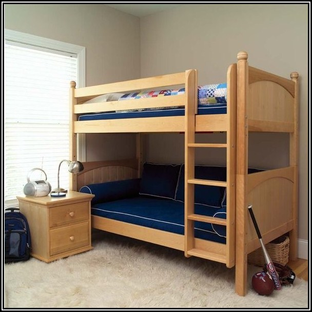 Low Full Size Loft Bed