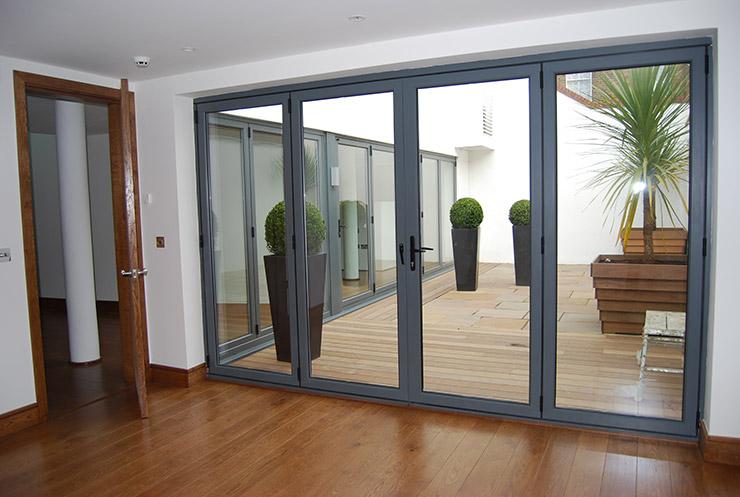 minimalist bifold doors designs & Bi Fold Door. Marvin Clad Ultimate Bifold Door. How To Make Bifold ... Pezcame.Com