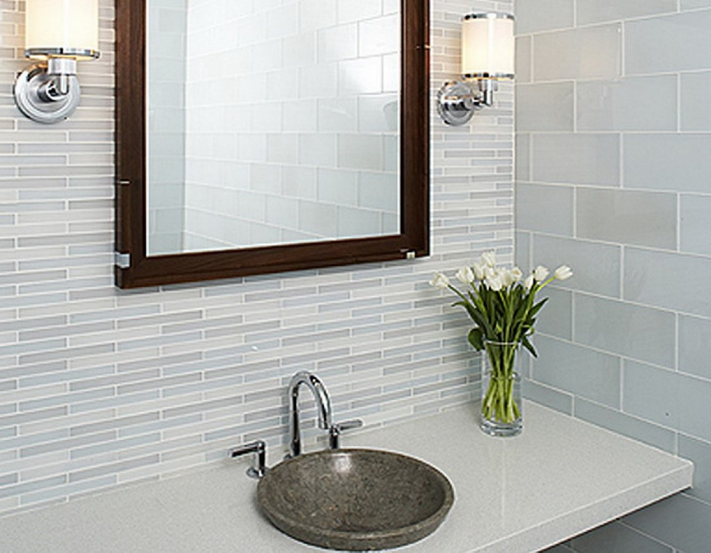 stunning modern bathroom tile ideas » inoutinterior, Home designs