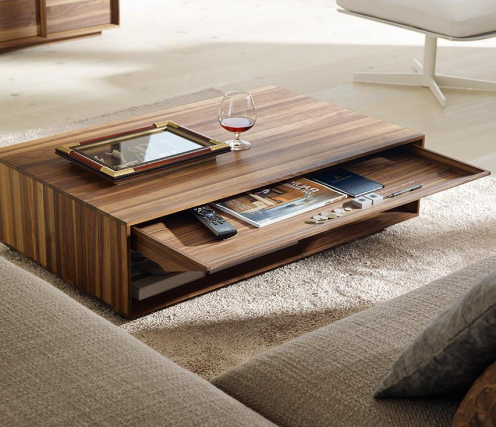 Modern DIY Coffee Table With Storage Area