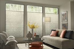 Modern Living Room - Modern Window Treatments