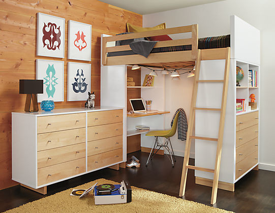 Loft Bed With Desk With Dresser