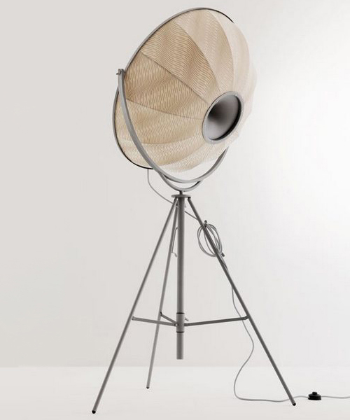 Modern Tripod Floor Lamp With Unique Shape