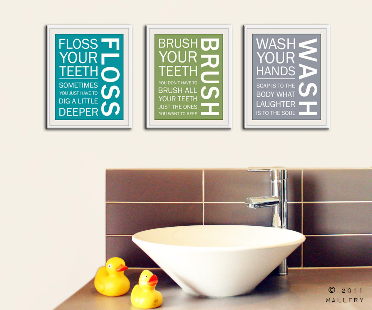 Delicieux Bathroom Wall Art Printables ...