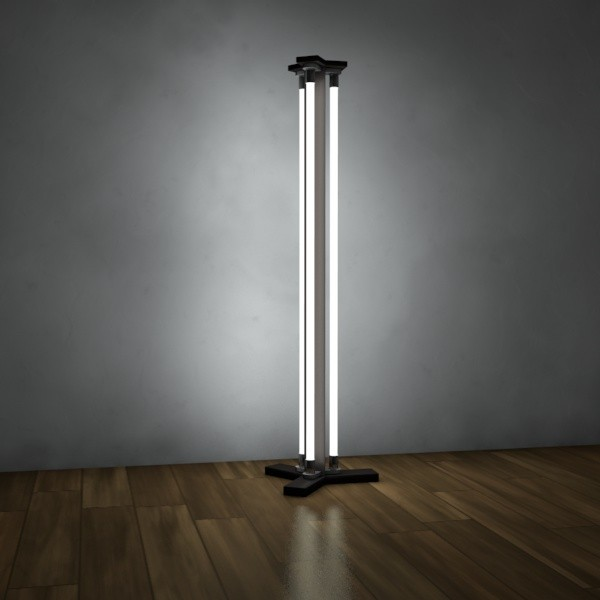 Modern floor lamps sleek elegant styles inoutinterior for Modern contemporary floor lamp