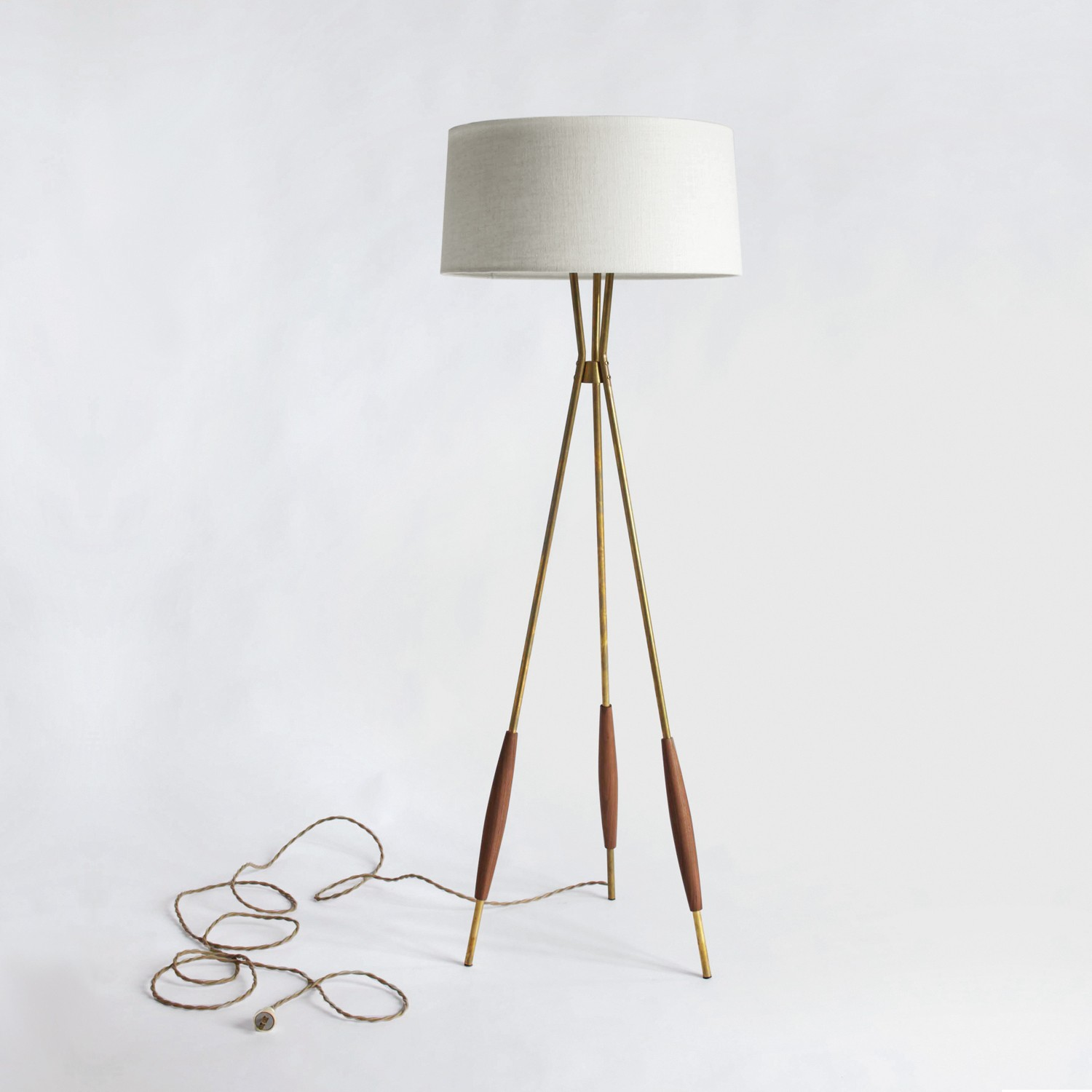 Tripod Floor Lamp Decorative