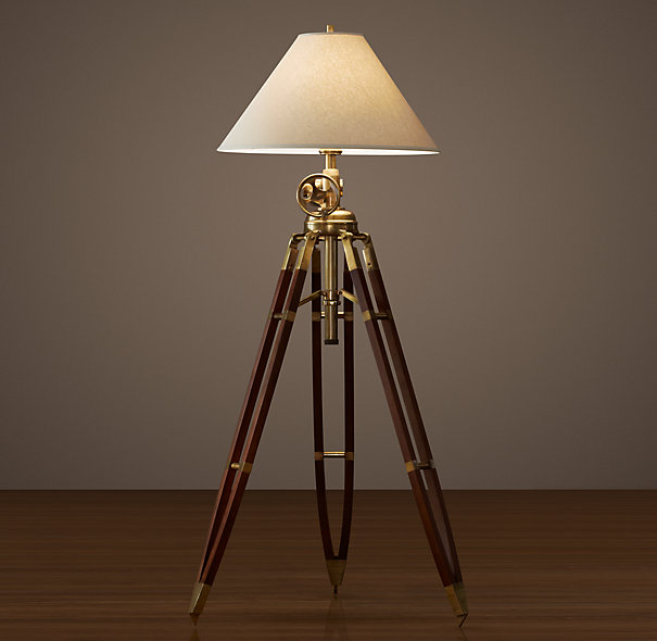 Tripod Floor Lamp Royal Marine