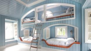 Built In Triple Bunk Bed