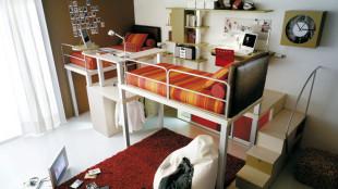 Unique Loft Bed With Desk Ideas