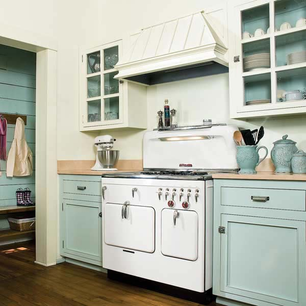 superior I Want To Paint My Kitchen Cabinets #7: ... Vintage Style Painting Kitchen Cabinets Vintage Painted ...