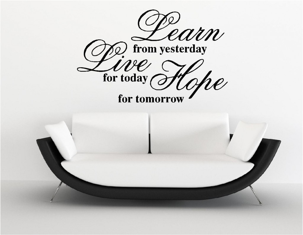 Wall Art Stickers Quote