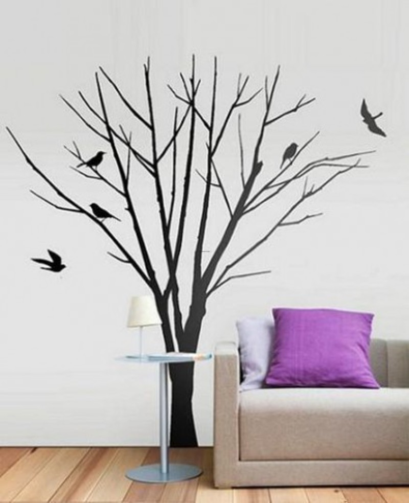 Bedroom wall art trees - Christmas Tree Wall Young Soul Photography