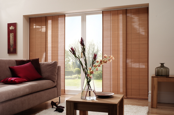 Modern Window Treatments For Sliding patio doors