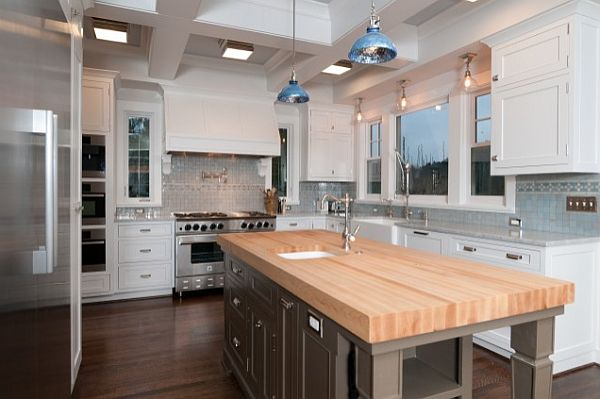 Butcher Block Countertops Modern