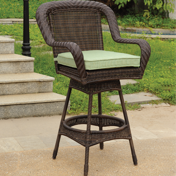 Casual Outdoor Bar Stools For Patio