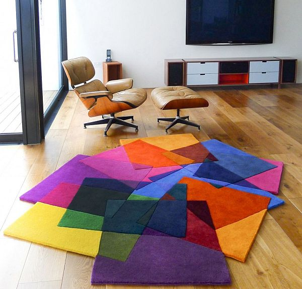 Colorful Large Area Rugs